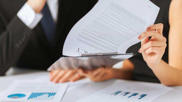Business Execs Paperwork